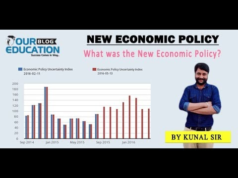 New Economic Policy Topic Live Class By Kunal Sir