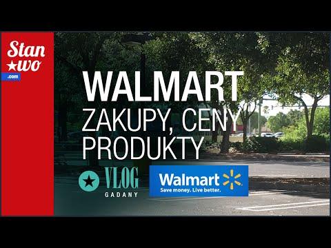 Walmart Superstore - Zakupy w USA - ceny, produkty i inne ciekawostki - Vlog Gadany #6