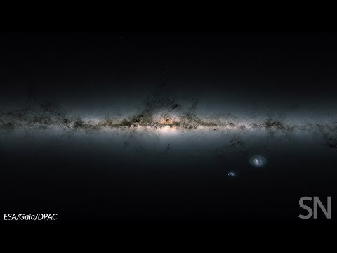 Explore a 360-degree view of GAIA's sky | Science News