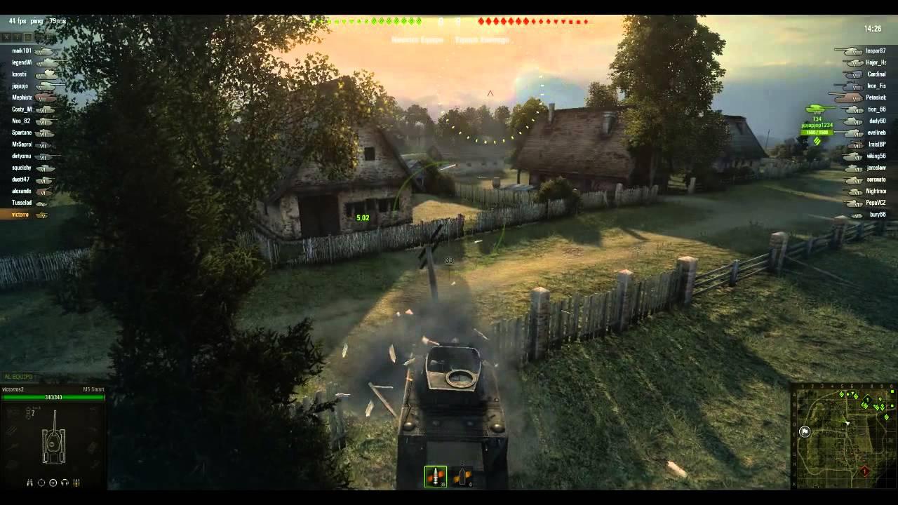 World Of Tanks Gameplay Juego Gratuito Online Multijugador De La