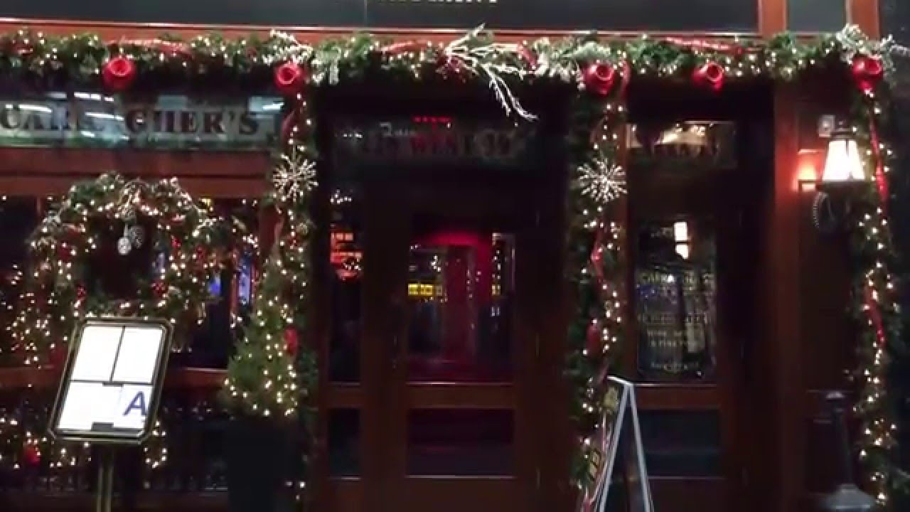 Christmas Time at Carragher\'s Pub & Restaurant NYC - YouTube
