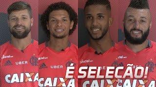 É Seleção! Diego, Arão, Jorge e Muralha comemoram!