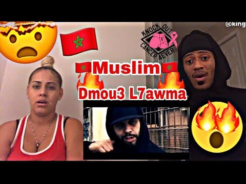 MUSLIM - DMOU3 L7AWMA REACTION 🔥🇲🇦 'MOROCCAN MUSIC' OFFICIAL MUSIC VIDEO MUST WATCH!