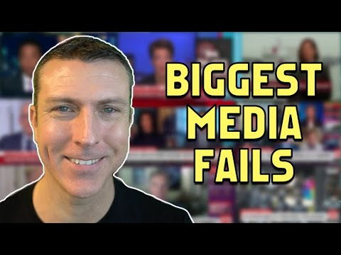 Biggest Media FAILS of the Year