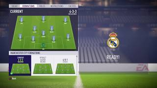 FIFA 18 Manchester City review - Best formation, Best tactics and instructions