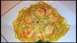 Shrimp and Clam Linguini Recipe - Delicious Italian Food with Fresh Herbs