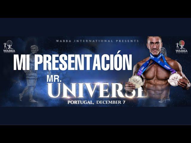 Mi Presentación Mr Universe 2020