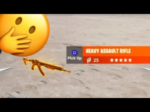 *NEW* HOW TO GET THE NEW Heavy Assault rifle IN Fortnite Chapter 2
