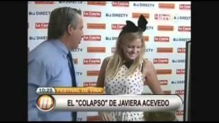 "El ""colapso"" de Javiera Acevedo"