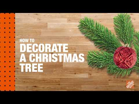 How to Decorate a Christmas Tree: Christmas Tree Lighting | The Home Depot