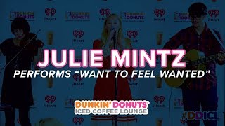 Julie Mintz Performs 'Want To Feel Wanted' Live