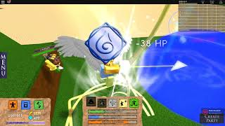 "I unlocked the ""Angel Element"" in Elemental Battlegrounds! 