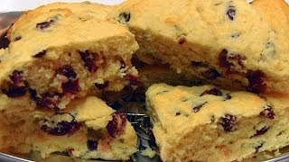 Betty's Cranberry Scones--kentucky Style!