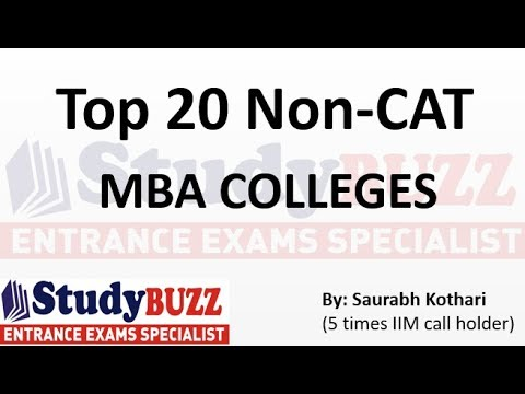 Top 20 Non CAT colleges you should definitely target!