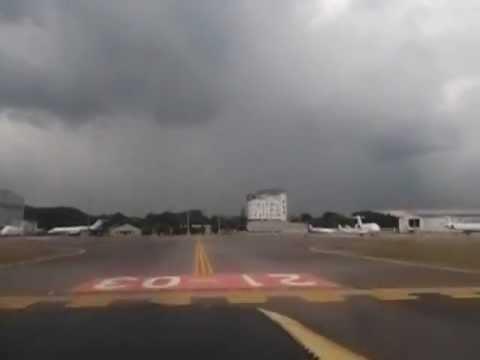 Landing in Seletar Airport