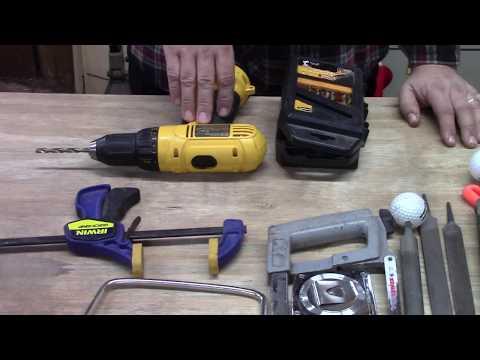 "Fox Ridge Arms ""Part 1"" Flint and Steel Custom Knife Making Kit UPDATE"