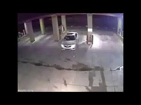 CCTV Footage Car wash burglary caught CCTV security camera ...
