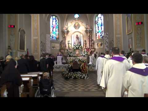 Rozpoczęcie Eucharystii - pogrzeb