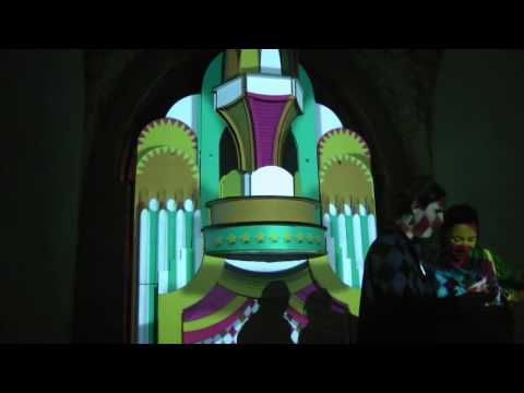 Festival of Light in night Jerusalem 2016