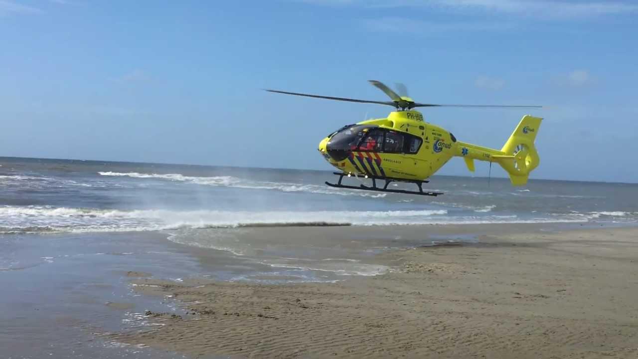 Afbeeldingsresultaat voor traumahelikopter op strand