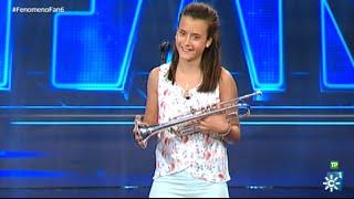 Fenómeno Fan | María deja perpleja a Merche con su trompeta