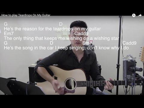 How to play Taylor Swift's Teardrops On My Guitar