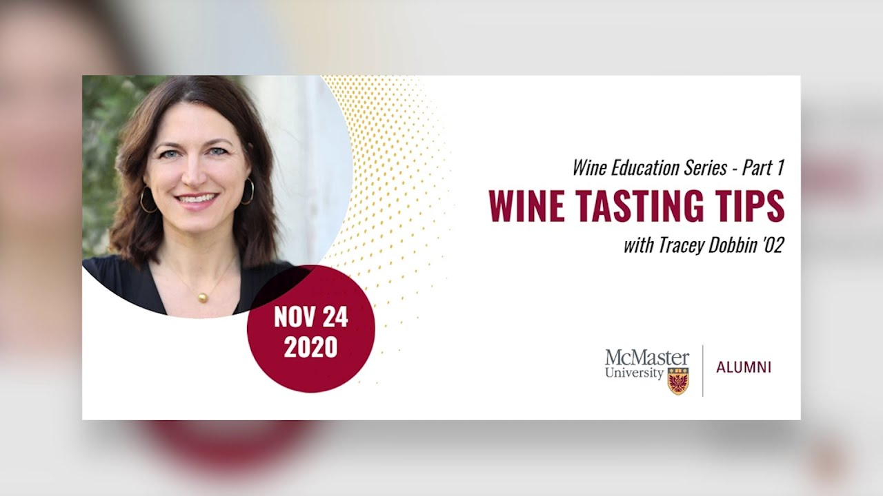 Image for Tasting Tips with Tracey Dobbin webinar