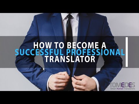 How to become a Successful Professional Translator