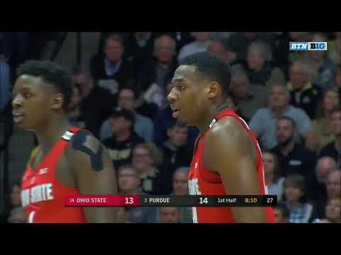 (NCAAM) #14 Ohio State Buckeyes at #3 Purdue Boilermakers in 40 Minutes (2/7/18)