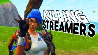 Killing MORE streamers in build fights with their reaction...
