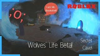 Roblox | Wolves' Life beta | Secret Cave