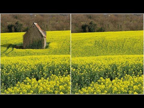 Supprimer Un élément D'une Image - Photoshop Tutoriel