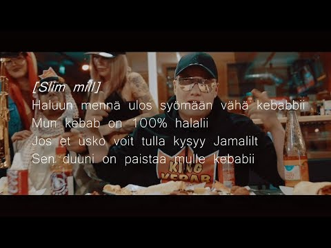 (LYRICS) KEBAB - Slim Mill x Fatboy L x A$AP Vergi
