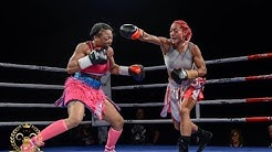 Melissa St. Vil USA vs Baby Nansen NZ @ Royal Rampage 2016 WBC Silver Super Featherweight
