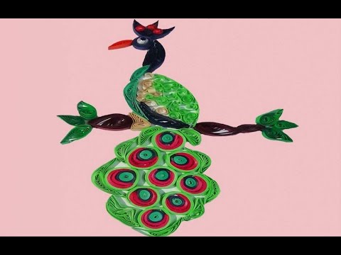 Paper Quilling: Peacock - Making Tutorial