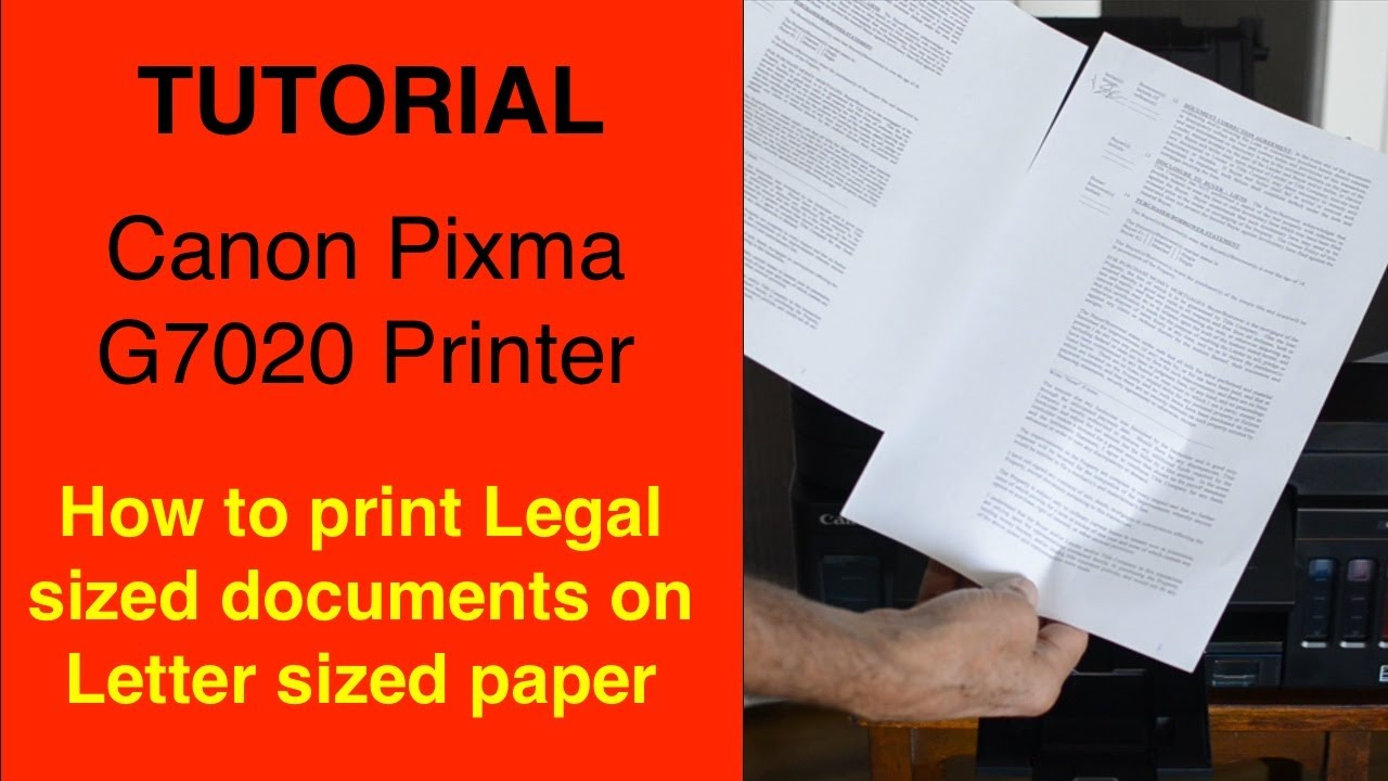 how to scan legal size documents canon