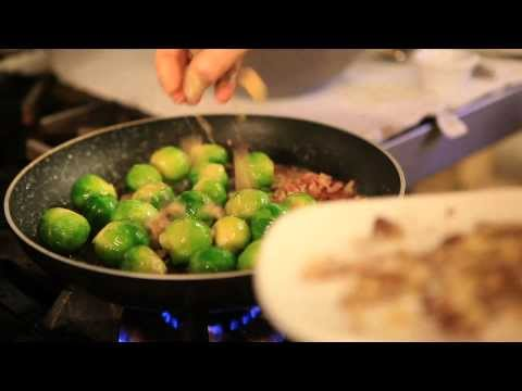 How To Cook Christmas Dinner: Bacon And Chestnut Brussel Sprouts   Holyrood PR Agency In Edinburgh