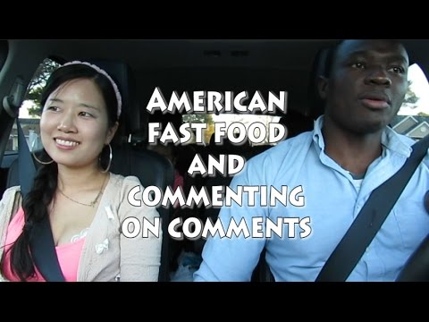 [Life in USA] AMERICAN FAST FOOD AND COMMENTING ON COMMENTS (2016 vlog ep.33) 미국일상 블라시안가족