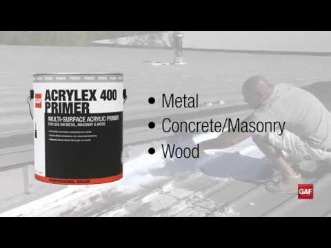 Gaf Roof Coatings Product Selection Overview Gaf Youtube