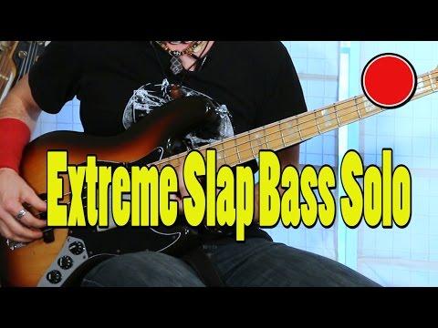 Extreme Slap Bass Solo  - Fender ´89 - by Rafa Beltrán (RafaSlapBass).