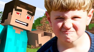 ANNOYING 14 YEAR OLD GETS GRIEFED ON MINECRAFT (MINECRAFT TROLLING)