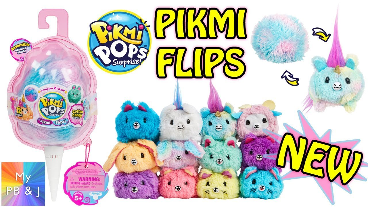 3816f5aea PIKMI FLIPS!!! BRAND NEW Pikmi Pops! - YouTube