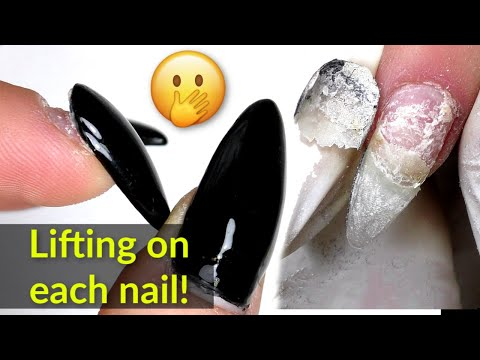 Gel Nails Fill with Lifting