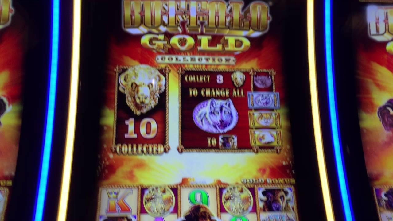 Aristocrat Buffalo Gold Slot Free Games Feature Big Win