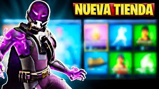 FORTNITE'S NEW STORE TODAY JUNE 8 NEW EXTRATERRESTRE AND SKIN GESTO OF TEMPESTAD