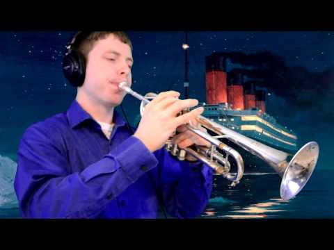 "My Heart Will Go On (from ""Titanic"") Trumpet Cover"