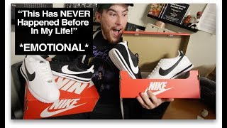 Drummer Gets 2 Pairs of Kendrick Lamar Nikes For Working Hard *He Cried*