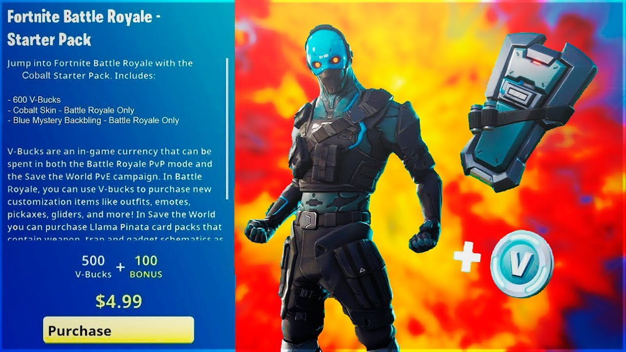 How To Get Fortnite S New Cobalt Skin Starter Pack Now Available