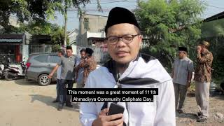 Indonesia Khuddam lay foundation for new Medical Clinic