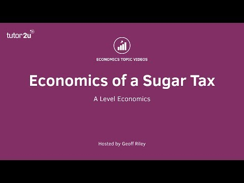 Economics of a Sugar Tax (Market Failure & Government Intervention)